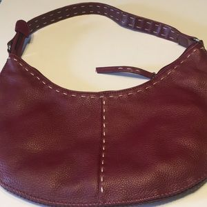 Handbags - Leather! 13 x7 With 10 inch drop-strap. Cute Hobo!